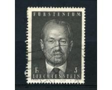 1970 - LOTTO/16644 - LIECHTENSTEIN - 3 Fr. PRINCIPE F.GIUSEPPE - USATO