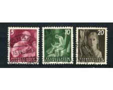 1951 - LOTTO/16650 - LIECHTENSTEIN - 5/10/20R. VITA CONTADINA - USATI