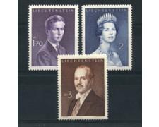 1960 - LOTTO/16655 - LIECHTENSTEIN - PRINCIPI 3v. - NUOVI