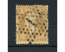 1862 - LOTTO/16682A - FRANCIA - 10cent . BISTRO  NAPOLEONE - USATO