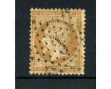 1862 - LOTTO/16682B - FRANCIA - 10cent . BISTRO  NAPOLEONE - USATO