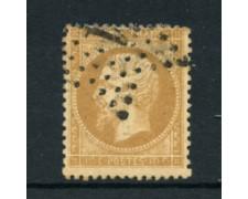 1862 - LOTTO/16682C - FRANCIA . 10 cent. BISTRO NAPOLEONE - USATO