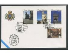 1994 - LOTTO/16695 - SAN MARINO - PALLAZZO DEL GOVERNO - BUSTA FDC