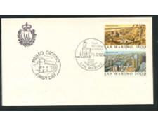 1984 - LOTTO/16699 - SAN MARINO - ESPOS.FILATELICA AUSIPEX - BUSTA FDC