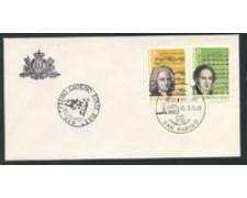 1985 - LOTTO/16700 - SAN MARINO - EUROPA BUSTA FDC