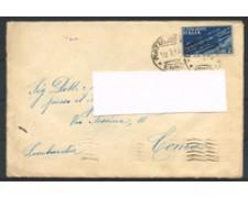 1945 - LOTTO/16734 - LUOGOTENENZA - 2 LIRE POSTA AEREA SU BUSTA