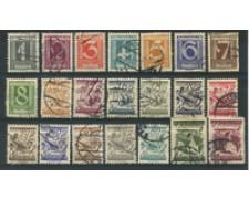1925 - LOTTO/16739 - AUSTRIA - SOGGETTI DIVERSI 21v. - USATI