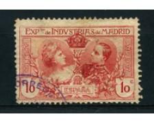 1907 - LOTTO/16748 - SPAGNA - 10cent. ESPOSIZIONE - USATO