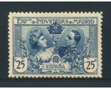 1907 - LOTTO/16750 - SPAGNA - 25cent. ESPOSIZIONE - LING.