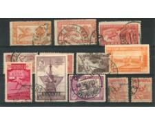 1905/1939 - LOTTO/16760 - SPAGNA - FRANCOBOLLI ESPRESSO 12v. - USATI