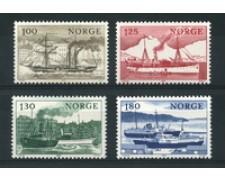 1977 - LOTTO/16770 - NORVEGIA - NAVI 4v. - NUOVI