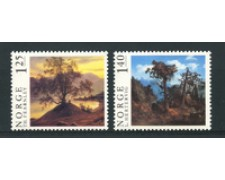 1976 - LOTTO/16777 - NORVEGIA - QUADRI 2v. - NUOVI