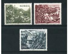 1977 - LOTTO/16779 - NORVEGIA - ALBERI 3v. - NUOVI