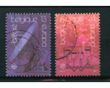 1988 - LOTTO/16854 - BELGIO - EUROPA 2v. - USATI