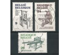 1988 - LOTTO/16859 - BELGIO - LA STAMPA 3v. - USATI