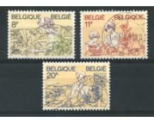 1983 - LOTTO/16868 - BELGIO - LA DONNA BELGA 3v. - USATI