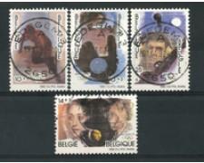 1992 - LOTTO/16870 - BELGIO - OLIMPIADI 4v. - USATI