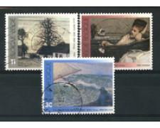 1992 - LOTTO/16875 - BELGIO - OPRE D'ARTE 3v. - USATI