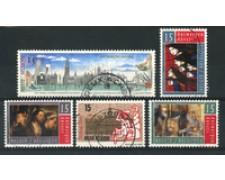1993 - LOTTO/16879 - BELGIO - ANVERSA CITTA' DELLA CULTURA 5v. - USATI