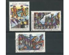 1993 - LOTTO/16880 - BELGIO - FOLCLORE 3v . - USATI