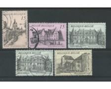 1993 -  LOTTO/16881 - BELGIO - SERIE TURISTICA 5v. - USATI