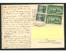 1945 - LOTTO/16913 - RSI - CARTOLINA ESPRESSO DA LECCO