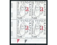 1986 - LOTTO/17049Q - FRANCIA - RAYMOND GID TIPOGRAPHIE - QUARTINA