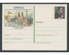 1981 - LOTTO/17126 - GERMANIA - NAPOSTA CARTOLINA POSTALE - NUOVA