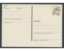 1979/80 - LOTTO/17130 - BERLINO - 40pf. WOLFSBURG CARTOLINA POSTALE - NUOVA