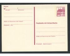 1979/80 - LOTTO/17131 - BERLINO - 60+60 Pf. CARTOLINA POSTALE - NUOVA