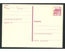 1979/80 - LOTTO/17132 - BERLINO - 60 Pf. CARTOLINA POSTALE - NUOVA