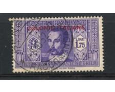 1932 - LOTTO/17239 - EMISSIONI GEN.- 1,75 LIRE DANTE - USATO