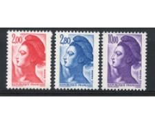 1983 - LOTTO/17242 - FRANCIA - LIBERTA' 3v. - NUOVI