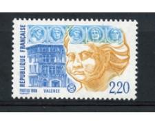 1988 - LOTTO/17247 - FRANCIA - SOCIETA' FILATELICHE - NUOVO