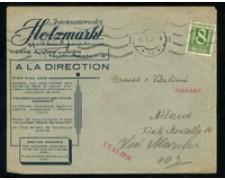 1925 - LOTTO/17323 - AUSTRIA - 8g.  SU BUSTA PER L'ITALIA
