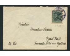 1919 - LOTTO/17347 - AUSTRIA - 20h. SU BUSTA DA INSBRUCK