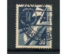 1953 - LOTTO/17369 - GERMANIA - 30p.  NAVIGAZIONE FLUVIALE - USATO