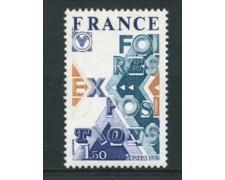 1976 - LOTTO/17401 - FRANCIA - FIERE E ESPOSIZIONI - NUOVO