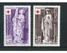 1976 - LOTTO/17402 - FRANCIA - PRO CROCE ROSSA 2v. NUOVI