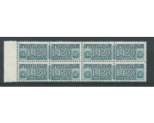 1958 - LOTTO/17407Q - REPUBBLICA - 120 L. PACCO CONCESSIONE - QUARTINA