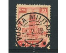 1919 - LOTTO/17432A - FIUME - 10 c. ALLEGORIE E VEDUTE - USATO