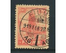 1919 - LOTTO/17432B - FIUME - 10 c. ALLEGORIE E VEDUTE - USATO