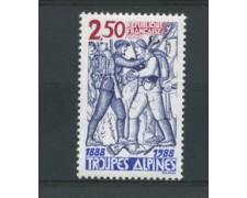 1988 - LOTTO/17461 - FRANCIA - TRUPPE ALPINE - NUOVO