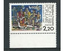 1986 - LOTTO/17465 - FRANCIA - FRONTE POPOLARE - NUOVO