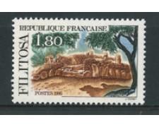 1986 - LOTTO/17467 - FRANCIA - 1,80 Fr. FILITOSA - NUOVO