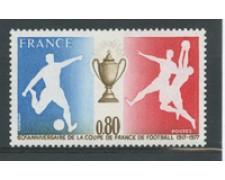1977 - LOTTO/17486 - FRANCIA - COPPA FRANCIA CALCIO - NUOVO