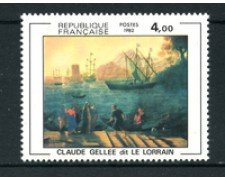 1982 - LOTTO/17497 - FRANCIA - 4 Fr. GELLEE  IMBARCO - NUOVO