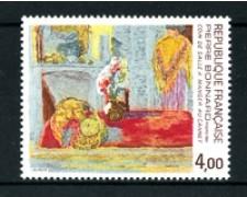 1984 - LOTTO/17498 - FRANCIA - P. BONNARD QUADRO - NUOVO