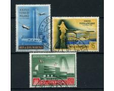 1958 - LOTTO/17563 - SAN MARINO - FIERA DI MILANO 3v. -  USATI