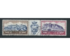 1958 - LOTTO/17564 - P/A MONTE TITANO - TRITTICO USATO